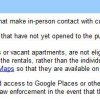 Adding your holiday rental to Google Places