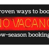 How to Get More Holiday Home Bookings in the Low-Season