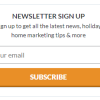 How Holiday Lets Can Use Email Marketing to Attract More Bookings