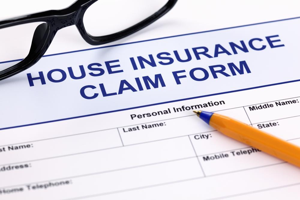 House insurance claim form
