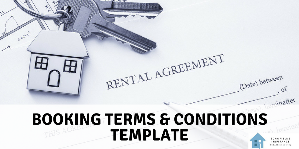 Holiday Home Booking Terms Conditions Template