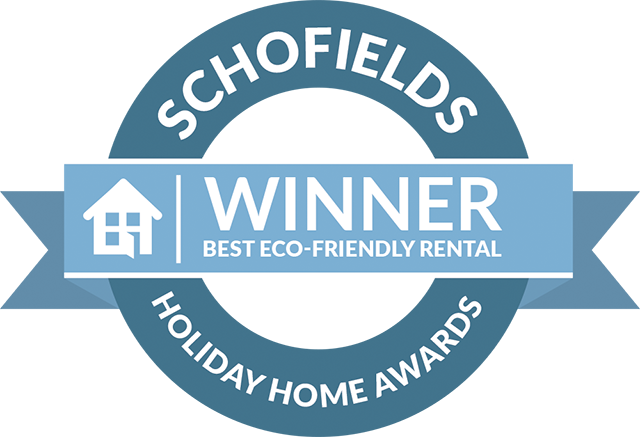 Schofields Holiday Home Award Old Barn 2019 :Best Eco-Friendly Rental